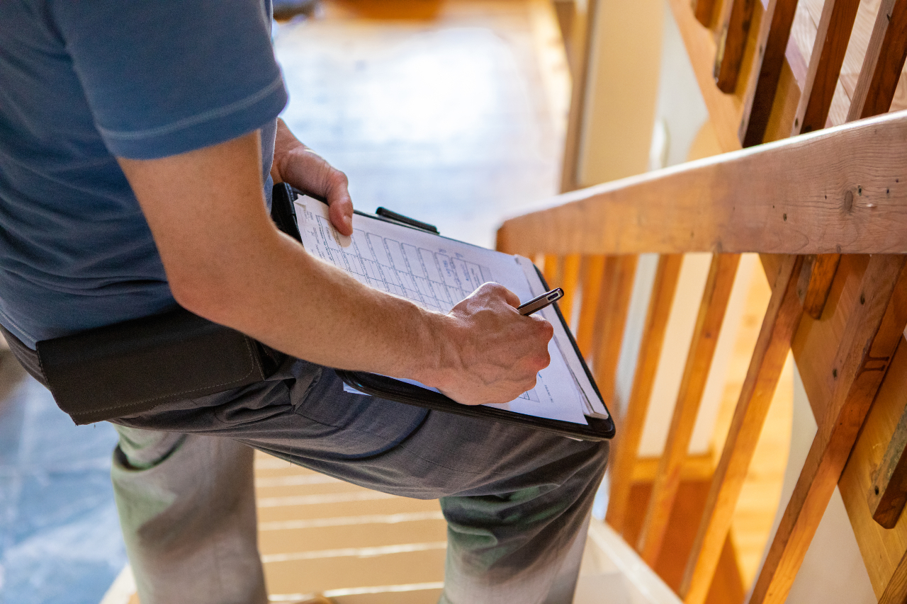 Building inspection major defects